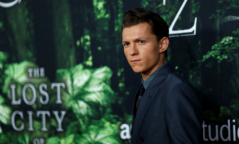 Uncharted Live Action Movie Tom Holland Plays Young Nathan Drake