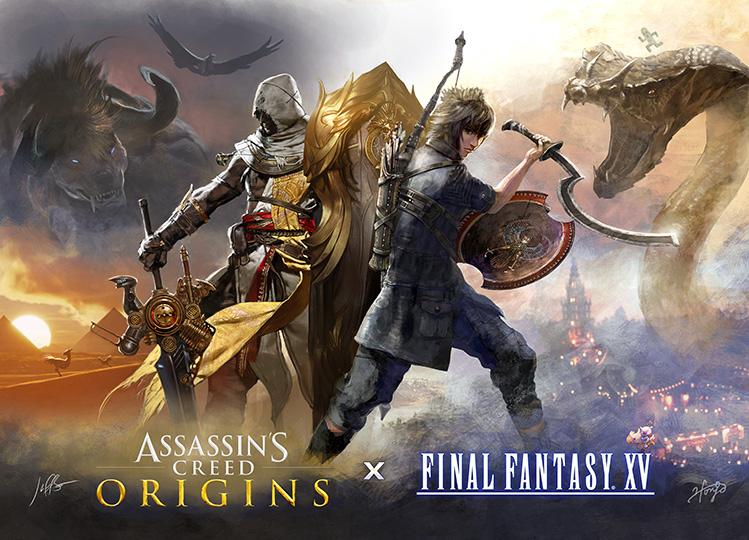 Assassin S Creed Final Fantasy Xv Crossover Free Dlc News