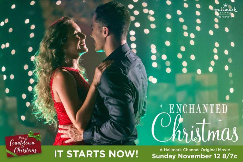 Enchanted Christmas Hallmark.Hallmark Channel S Enchanted Christmas Showtimes See When