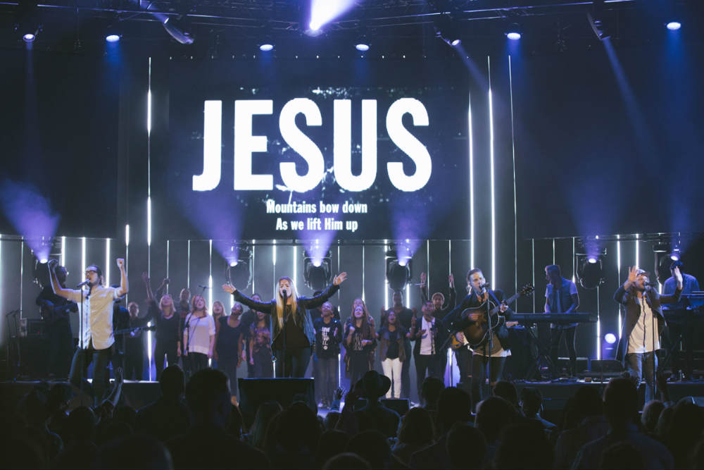 Creative Worship Services Drawing the Young, but Some Worry It's