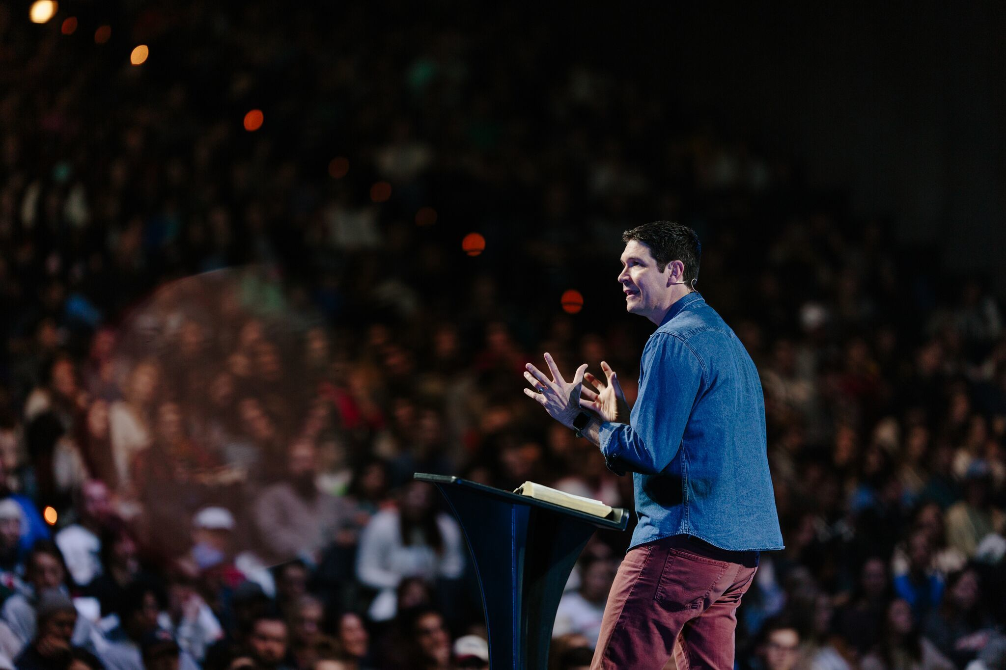 Matt Chandler warns Church is no longer about discipleship but 'being entertained'