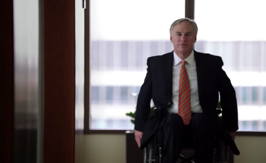 'My life seemed crushed': Texas gov.'s major triumph over tragedy