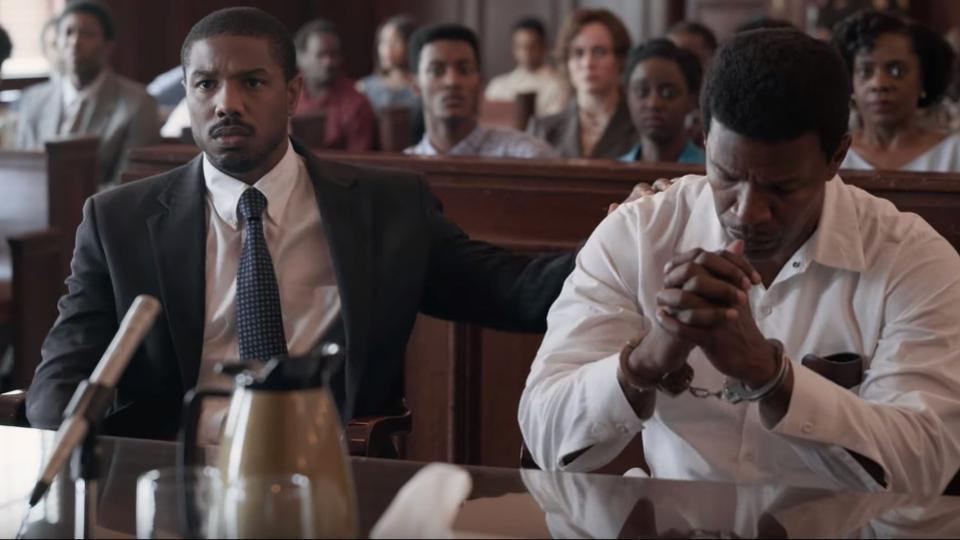 Trailer released for Michael B  Jordan film 'Just Mercy