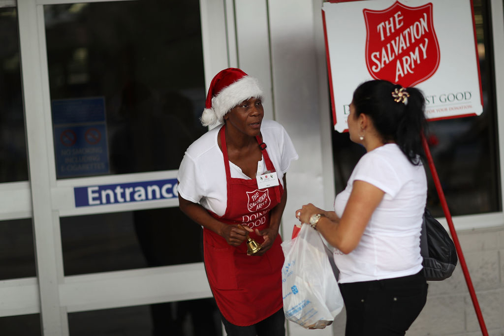 The Salvation Army is a hate group?