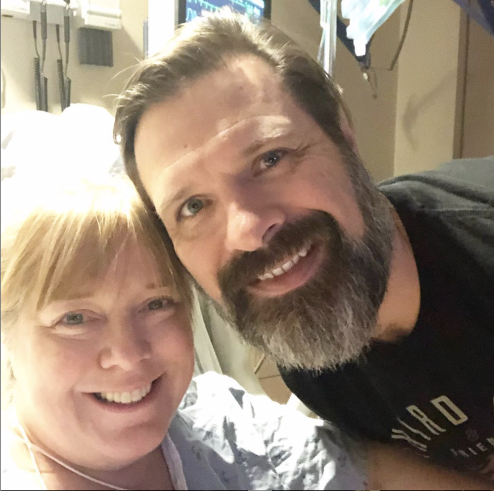 Third Day's Mac Powell praises God for 'miracle' 6 weeks after wife's brain aneurysm, stroke