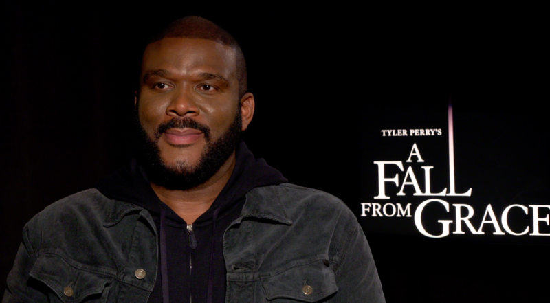 Tyler Perry says Netflix film 'A Fall From Grace' inspired by journey of faith, trials