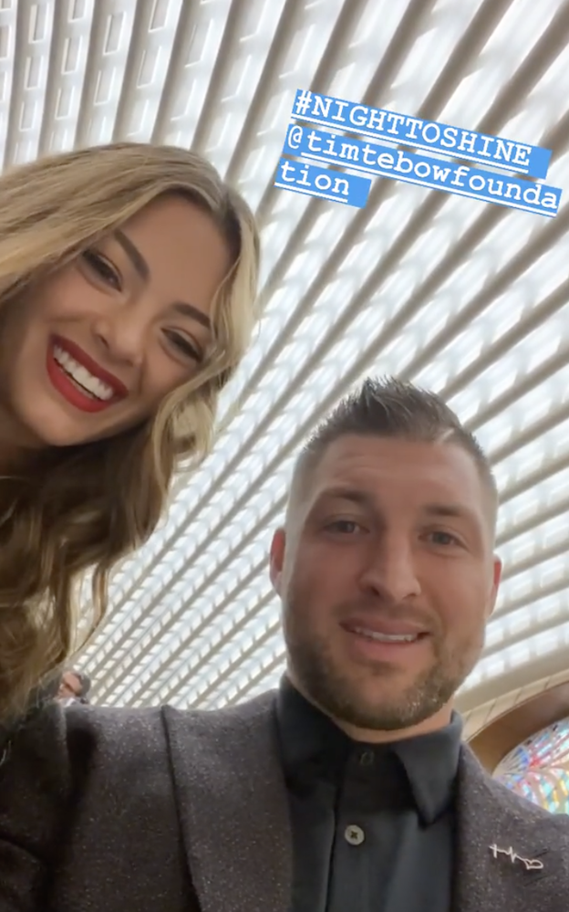 Newlyweds Tim Tebow, Demi Nel-Peters meet Pope Francis after first Night to Shine event in Rome