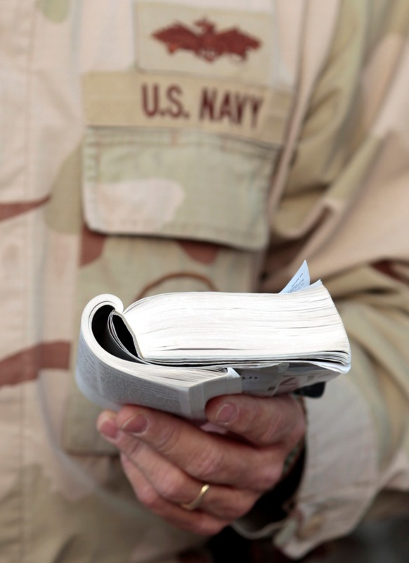 Navy chaplain accused of violating Constitution for encouraging soldiers to 'lead like Jesus'