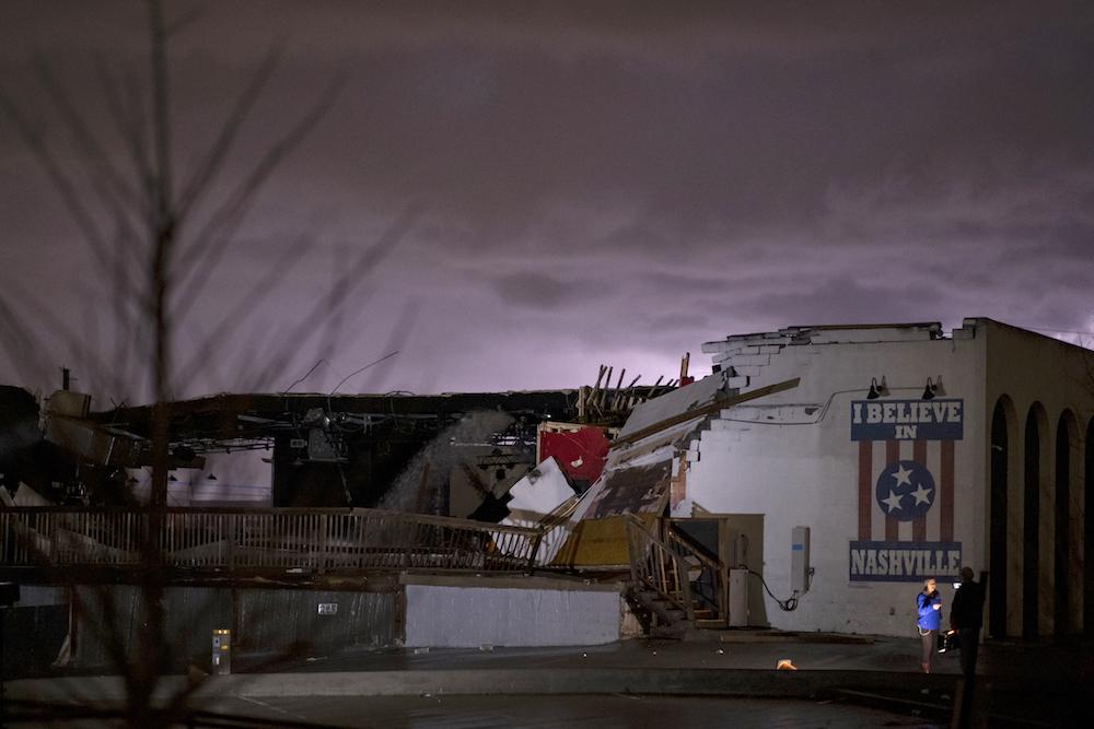 'Heartbroken': Tornado destroys parts of Nashville, Christian music artists react