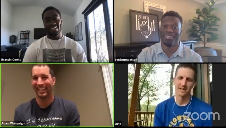 Christian pro athletes discuss how God wants them to use coronavirus downtime