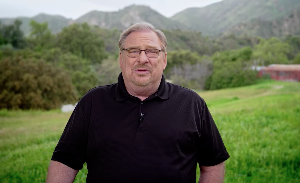Coronavirus kept millions of churches from gathering for first time in 2,000 years, Rick Warren says