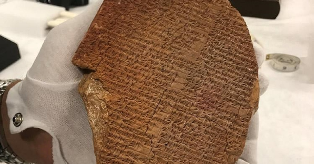 US orders return of rare Gilgamesh Dream Tablet from Museum of the Bible
