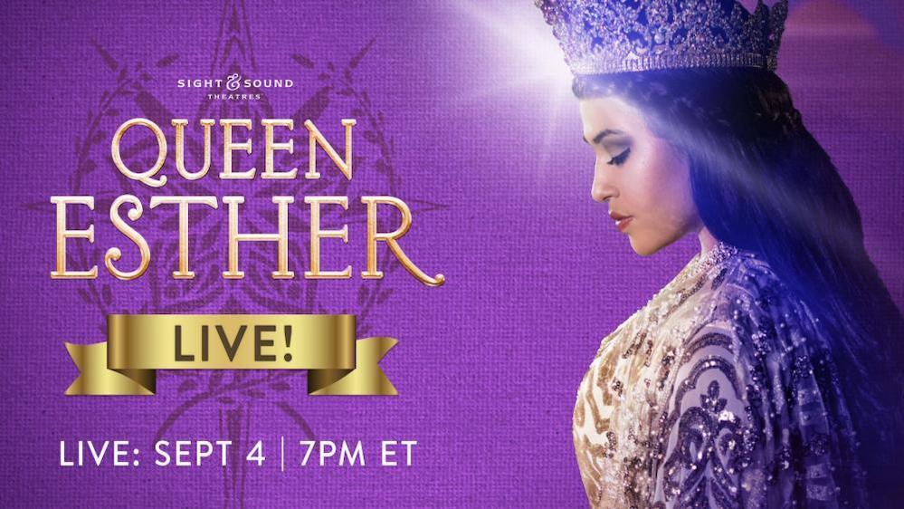 Sight & Sound to broadcast live performance of 'Queen Esther' after lockdown cancels 200 shows