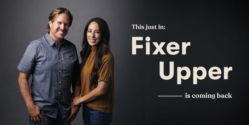 Chip and Joanna Gaines announce 'Fixer Upper' reboot on Magnolia Network