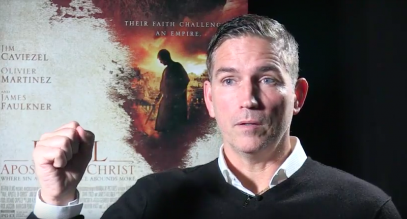 Jim Caviezel says churches in America are at risk of being canceled, defends Christianity