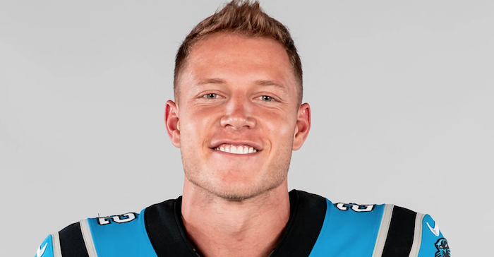Panthers RB Christian McCaffrey trusting God after ankle injury