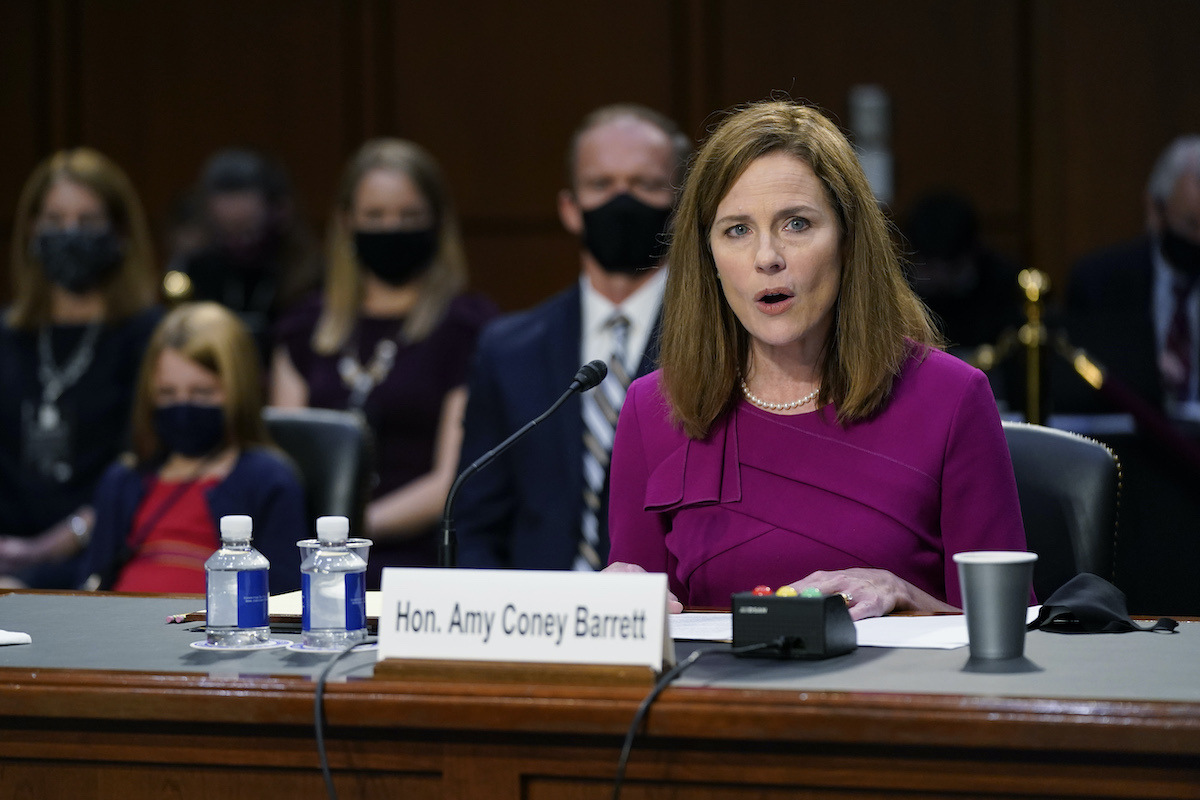 Amy Coney Barrett's final Senate confirmation vote set for Monday evening
