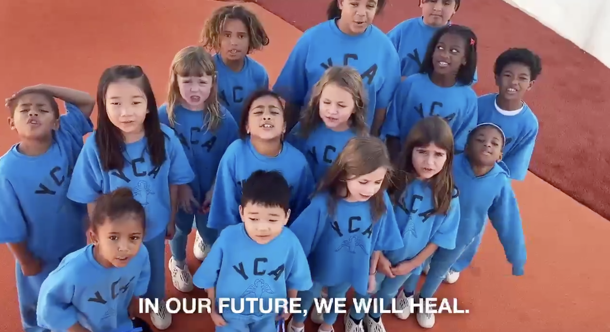 Kanye West releases video of new Christian academy: 'Jesus loves everyone'
