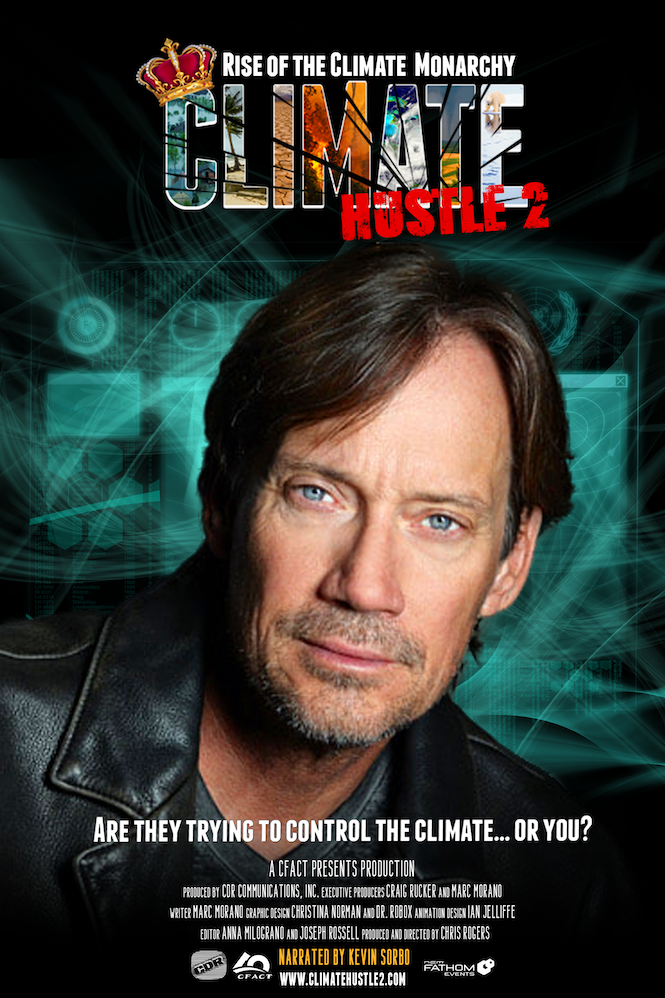 'Climate Hustle 2': Kevin Sorbo says global warming is a fear tactic similar to COVID