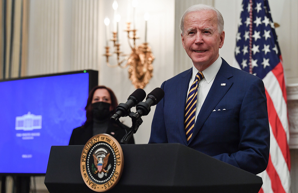 Biden vows to 'codify' Roe v. Wade on anniversary of ruling