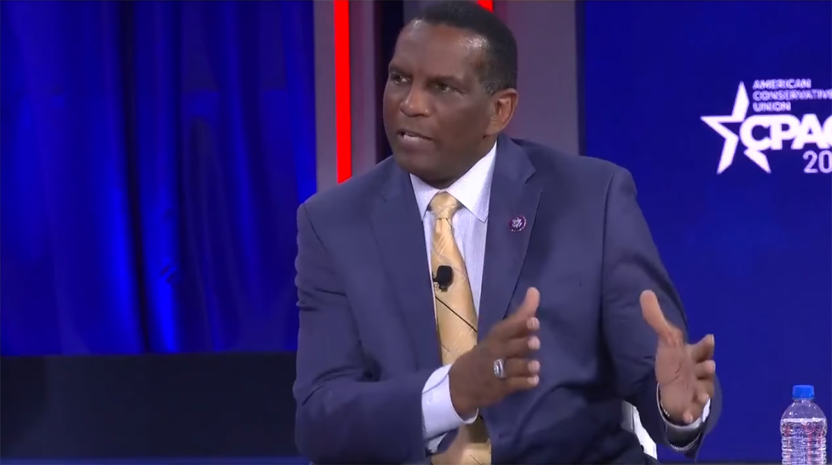 Burgess Owens at CPAC: 'When you take God out of the equation, destruction is what's left'