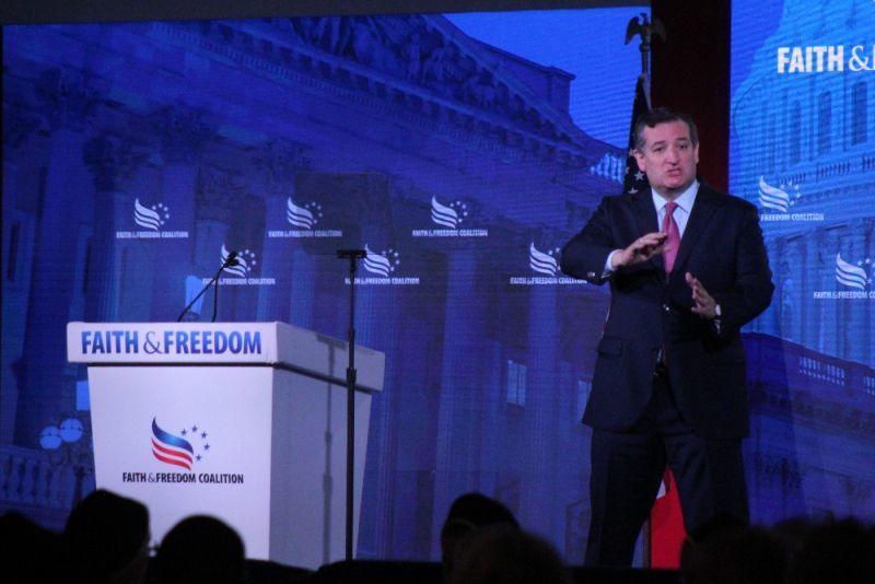 Ted Cruz calls on Church to 'wake up' to defeat 'woke assault'