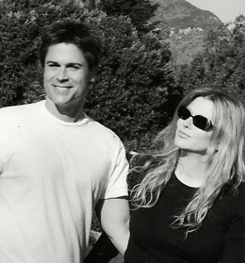 Rob Lowe Wife Sheryl Berkoff 1991